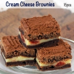 Delicious mouthwatering Cream Cheese Brownies!