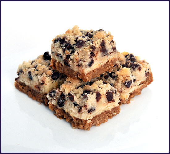 Cookie Dough Cheesecake Squares