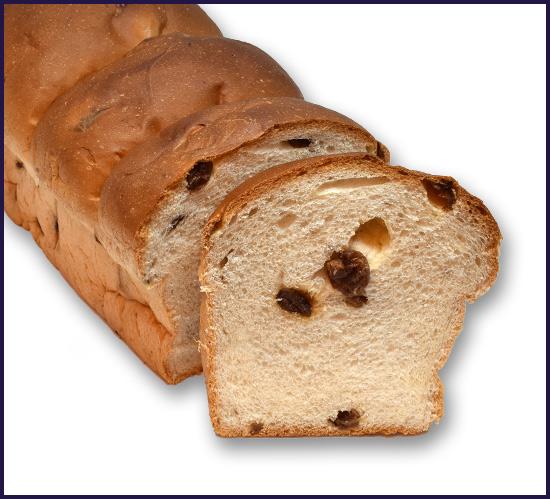 Sweet Bread Raisin 3 bun
